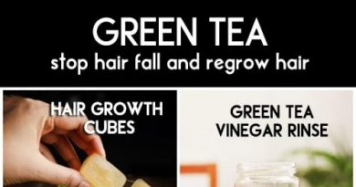 Green tea is the best remedy for hair loss