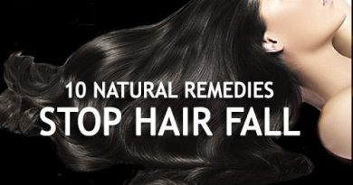10 Natural Ingredients to stop hair fall