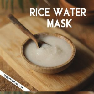 FERMENTED RICE WATER MASK for extreme hair growth