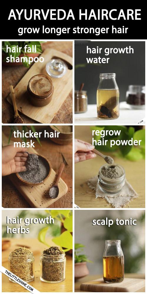 Ayurveda hair care for longer, stronger hair