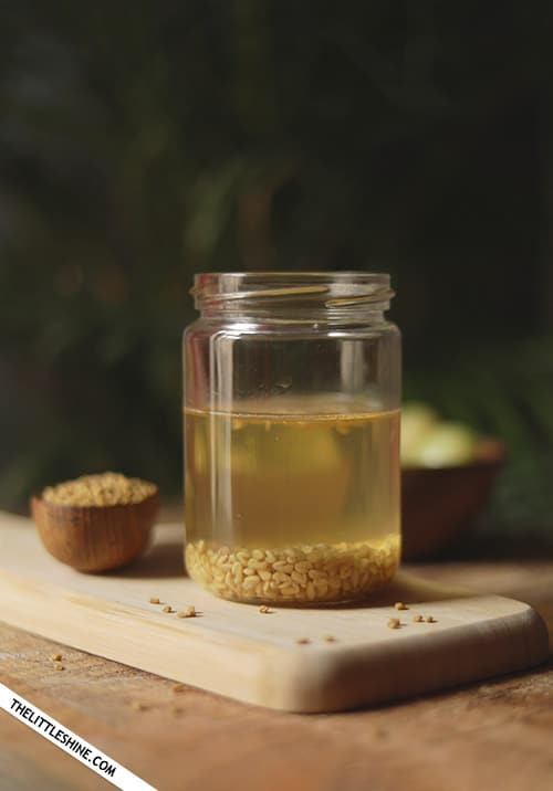 FENUGREEK WATER - BENEFITS AND USES