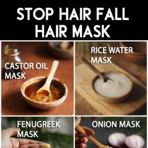 BEST HAIR MASKS to stop hair fall