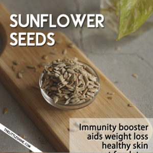 SUNFLOWER SEEDS - BENEFITS AND USES