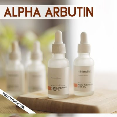 Alpha arbutin: a little-known secret for brighter, glowing and even skin