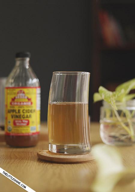DRINK WARM WATER WITH APPLE CIDER VINEGAR