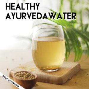 Healthy Ayurveda Water