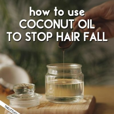 COCONUT OIL TO STOP HAIR FALL