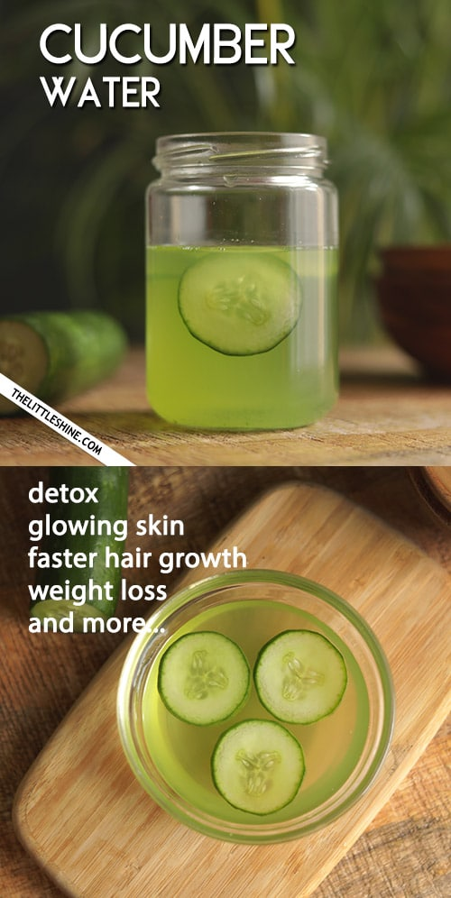 CUCUMBER WATER RECIPE AND ITS BENEFITS