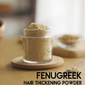 Fenugreek Powder to stop hair fall