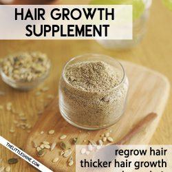 NATURAL HAIR GROWTH SUPPLEMENT