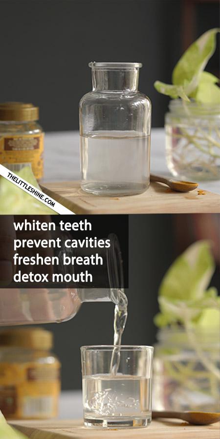Natural Mouthwash Recipes