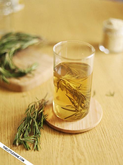 Rosemary Hair water to regrow thinning hair