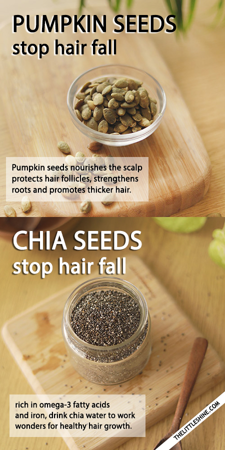 STOP HAIR FALL WITH SEEDS