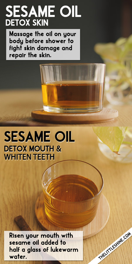 SESAME OIL to whiten teeth, hair growth, boost immunity and more