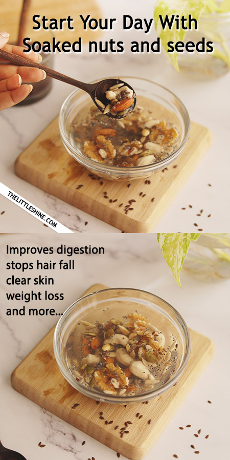 EAT OVERNIGHT SOAKED NUTS and SEEDS EVERY MORNING