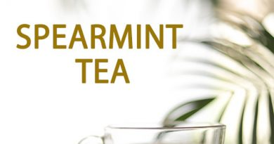 SPEARMINT TEA for clear skin, improve memory, detox body and more..