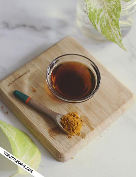 honey with turmeric
