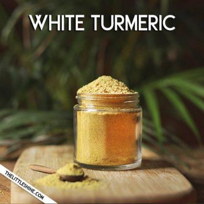 White Turmeric - Benefits and Uses