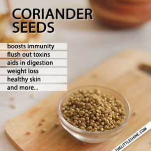 CORIANDER SEEDS BENEFITS AND USES