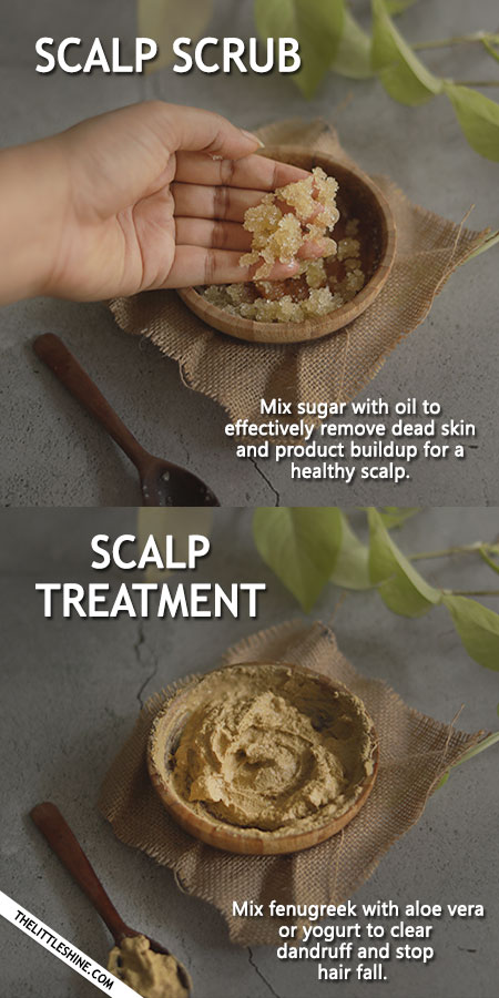 AYURVEDA REMEDIES FOR HEALTHY SCALP