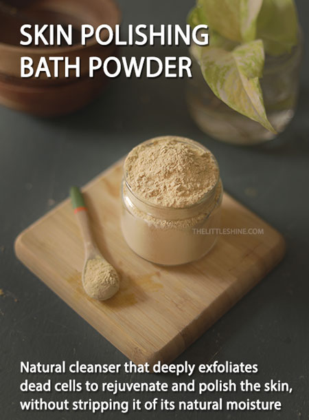 BATH POWDER FOR CLEAR GLOWING SKIN