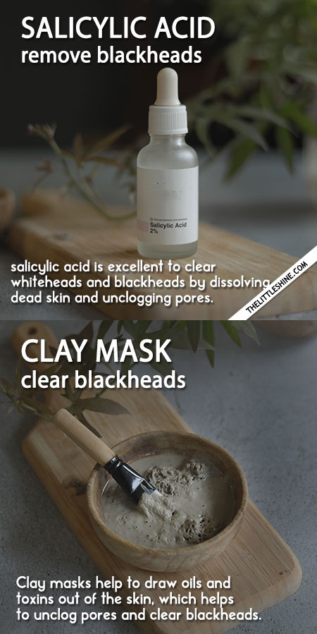 BEST REMEDIES AND PRODUCTS TO CLEAR BLACKHEADS and WHITEHEADS