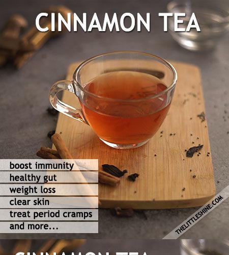 CINNAMON TEA BENEFITS AND RECIPES