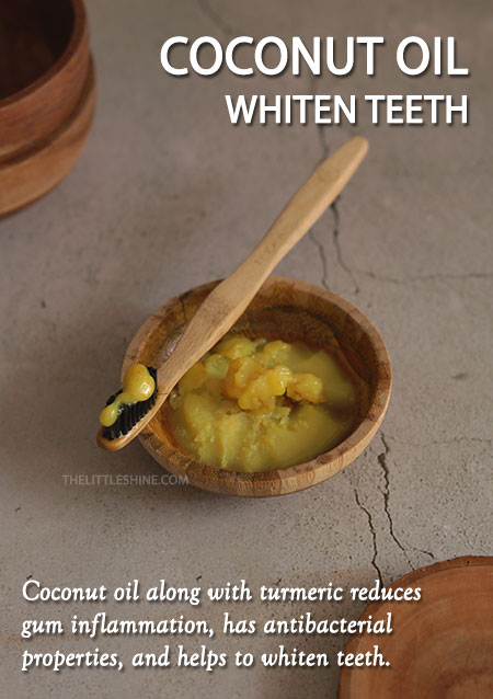 COCONUT OIL TO DETOX MOUTH
