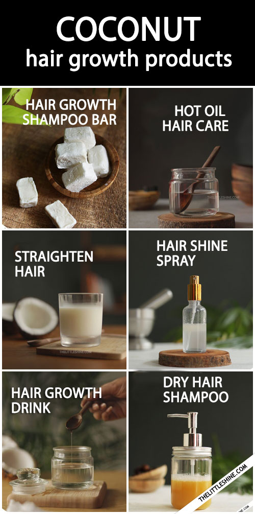 Coconut Hair Growth Products