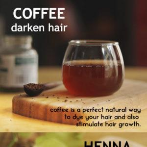 DARKEN HAIR WITH NATURAL INGREDIENTS