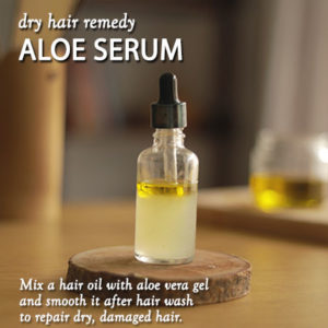 NATURAL WAYS TO TREAT DRY HAIR