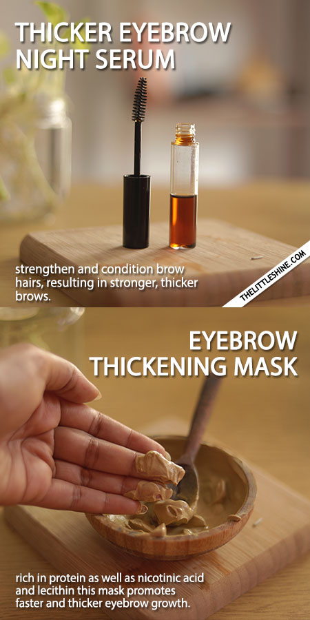 WAYS TO GET THICKER EYEBROWS