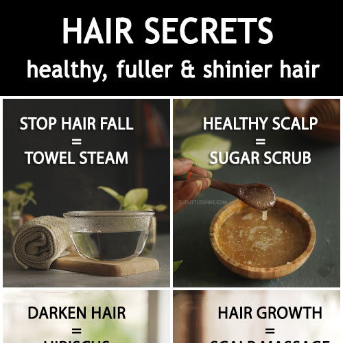 Simple Secrets to Healthier, Fuller and Shinier Hair naturally