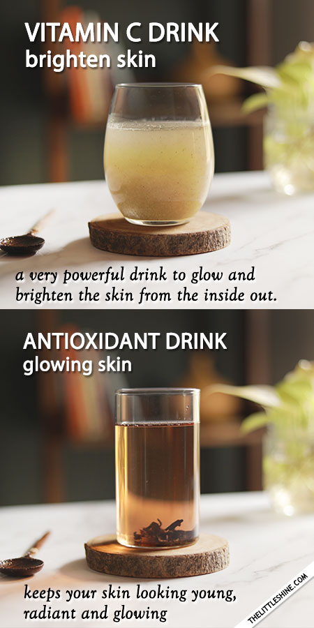 6 best drinks for clear healthy skin