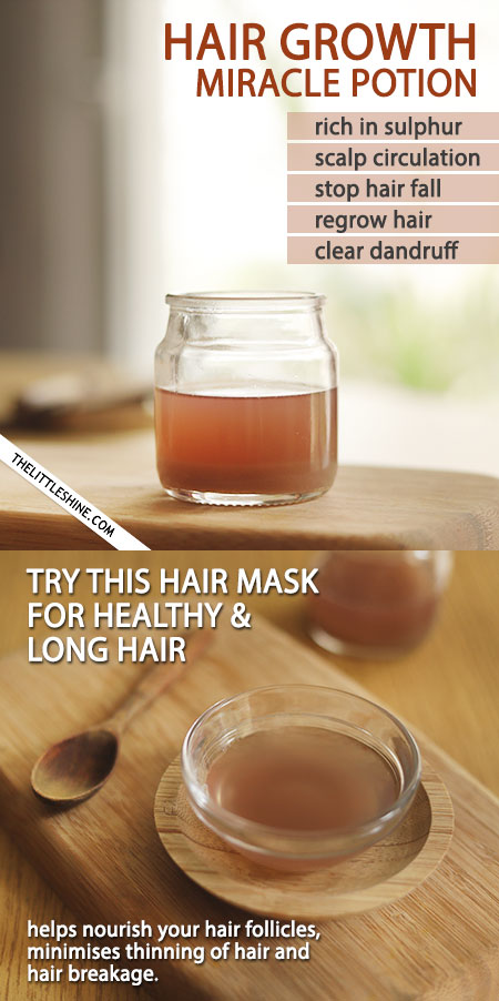 WHY ONION JUICE IS A MIRACLE POTION FOR YOUR HAIR