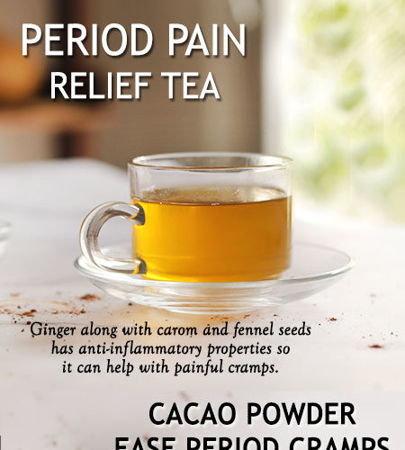 NATURAL REMEDIES TO HELP EASE PMS AND PERIOD CRAMPS