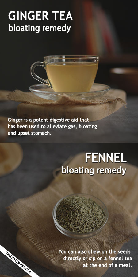 GET RID OF BLOATING WITH THESE REMEDIES