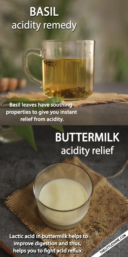 HOME REMEDIES FOR ACIDITY OR ACID REFLUX