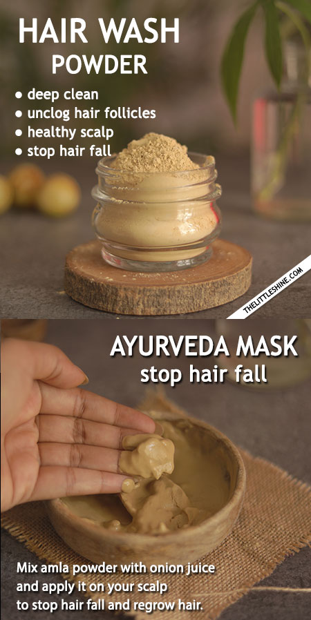 STOP HAIR FALL WITH AYURVEDA REMEDIES