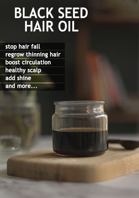 HOW TO USE BLACK SEED OIL TO STOP HAIR FALL AND REGROW HAIR