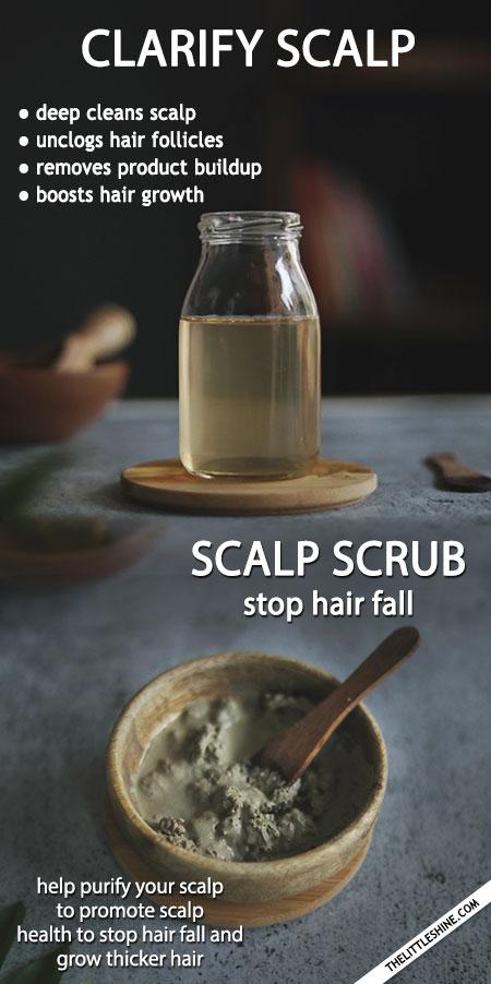 CLARIFY YOUR SCALP