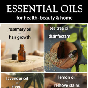 10 ESSENTIAL OILS TIPS AND HACKS FOR HOME AND BEAUTY