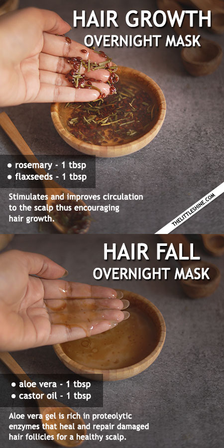 OVERNIGHT HAIR MASKS TO CARE FOR DIFFERENT KINDS OF HAIR