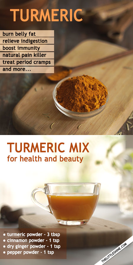 TURMERIC CAN HELP YOUR BELLY ISSUES