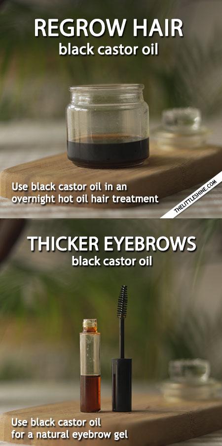 BEAUTY TIPS USING BLACK CASTOR OIL